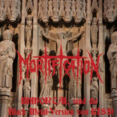 MORTIFICATION: IMMORTAL sind die Black Metal-Version von KISS!