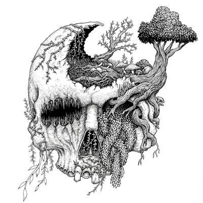 """MOSS UPON THE SKULL: streamen """"In Vengeful Reverence"""" Album"""