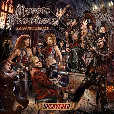 "MYSTIC PROPHECY: weiteres Cover von ""Monuments Uncovered"""