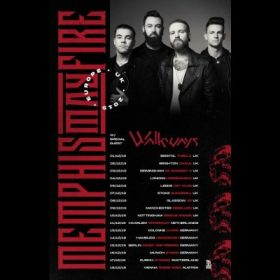 MEMPHIS MAY FIRE: Europatour mit WALKWAYS