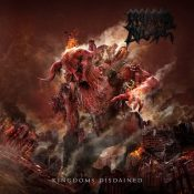 Morbid angel Kingdoms Disdained CD Cover