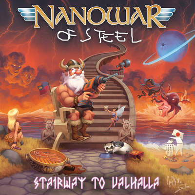 "NANOWAR OF STEEL: Lyric-Video vom ""Stairway To Valhalla"" Album"