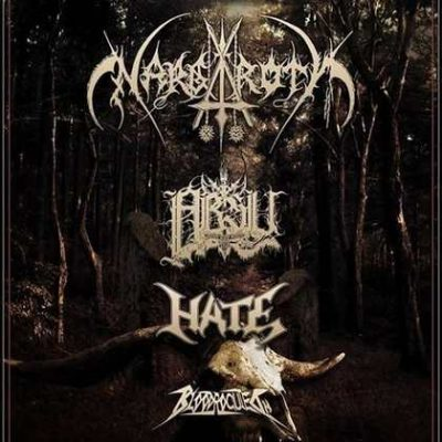 NARGAROTH, ABSU, HATE, BLOODROCUTED