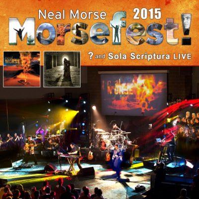 NEAL MORSE: Morsefest 2015 [4CD/2DVD bzw. 2 Blu-ray]