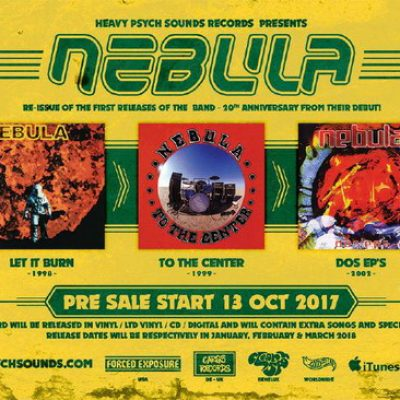 NEBULA: Re-Releases bei Heavy Psych