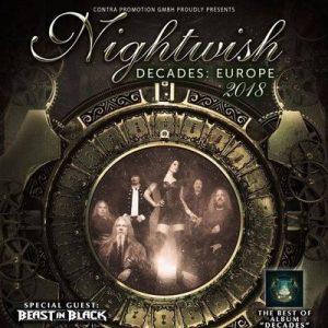 """NIGHTWISH: """"Decades"""" Tour 2018"""