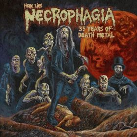 "NECROPHAGIA: Compilation ""Here Lies NECROPHAGIA: 35 Years Of Death Metal"" im November"