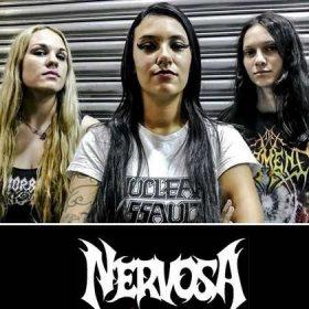 NERVOSA: Neue Drummerin Luana Dametto
