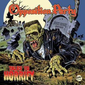 "OPPOSITION PARTY: Neue Punk / Thrash EP ""Tales To Horrify"" aus Singapur"