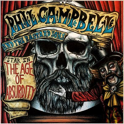 PHIL-CAMPBELL-BASTARD-SONS-age-absurdity, CD Cover