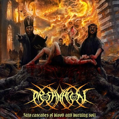 "PROFANATION: Lyric-Video vom ""Into Cascades Of Blood And Burning Soil"" Album"