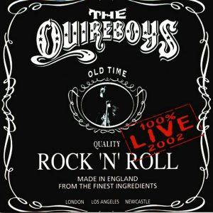 THE QUIREBOYS: 100% Live 2002