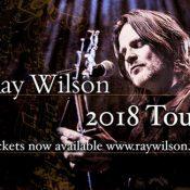RAY WILSON: Tourdaten 2018