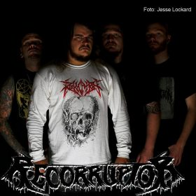 "RECORRUPTOR: neues Death Metal Album ""The Funeral Corridor"" aus Michigan"