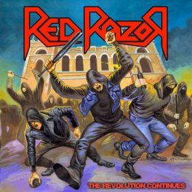 "RED RAZOR: Neues Thrash Album ""The Revolution Continues"" aus Brasilien"