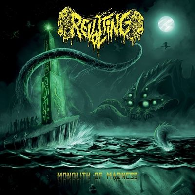 "REVOLTING: Lyric-Video zu ""Cadaver Patrol"""