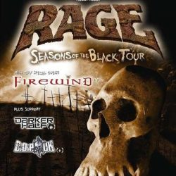 "RAGE ""Seasons of the Black""-Tour mit FIREWIND, DARKER HELL, COP UK"