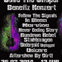 DOOM SHALL RISE: Warm Up-Party zum SAVE THE CHAPEL Benefiz-Konzert