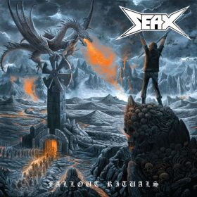 "SEAX: Weiterer Track vom Speed Metal-Album ""Fallout Rituals"""
