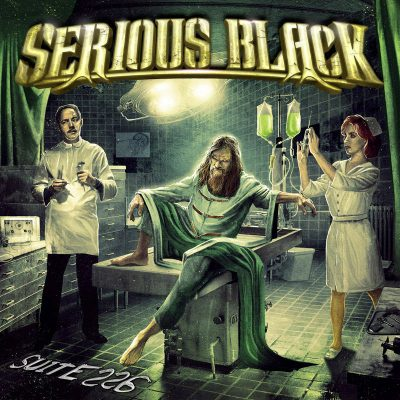 "SERIOUS BLACK: Lyric-Video vom neuen Album ""Suite 226"" und Tour mit HAMMERFALL"