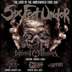 "SIX FEET UNDER ""The Lord Of The Underworld""-Tour"