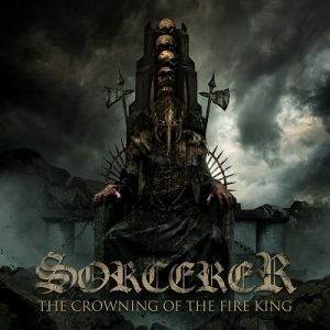 SORCERER The Crowning Of The Fire King CD Cover