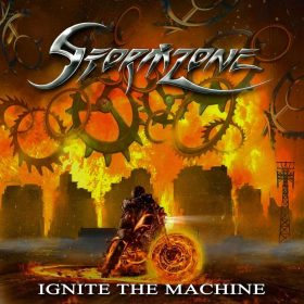 "STORMZONE: neues Heavy Metal Album ""Ignite the Machine"" aus Belfast"