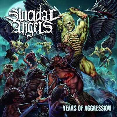 "SUICIDAL ANGELS: Lyric-Video vom ""Years of Aggression"" Album"