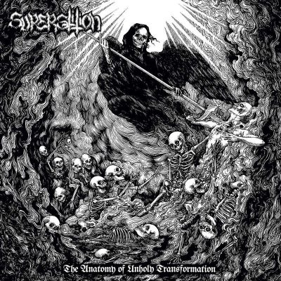 "SUPERSTITION: debütieren mit ""The Anatomy Of Unholy Transformation"" Album"