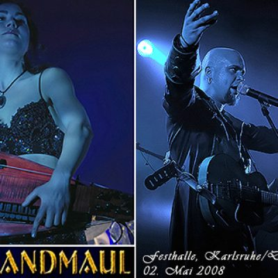 SCHANDMAUL & THE SEER: Karlsruhe-Durlach, Festhalle, 02.05.2008