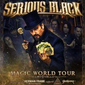 "SERIOUS BLACK, HERMAN FRANK, MY OWN GHOST, STORMHAMMER: ""Magic World Tour"""