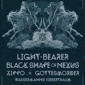 ST. HELENA DOOM FEST 2012 mit LIGHT BEARER, BLACK SHAPE OF NEXUS und anderen am 26. Mai 2012 in der Kranhalle, München