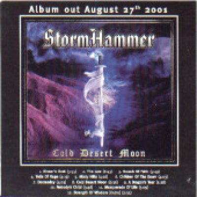 STORMHAMMER: Cold Desert Moon