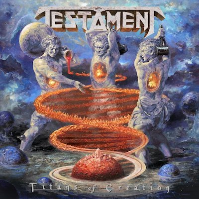 DEUTSCHE ALBUMCHARTS: mit TESTAMENT, AUGUST BURNS RED, DYNAZTY