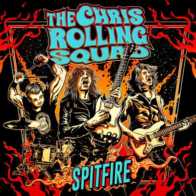 "THE CHRIS ROLLING SQUAD: Video-Clip vom neuen Rock´n´roll Album ""Spitfire"""