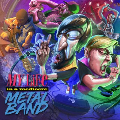 "TIMORATUS: neues Modern Death Metal / Deathcore Album ""My Life in a Mediocre Metal Band"""