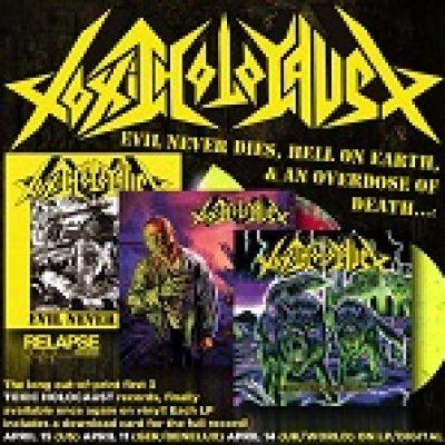 TOXIC HOLOCAUST: Re-Releases auf Vinyl