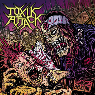 "TOXIK ATTACK: Video-Clip  vom ""Assassinos em Série"" Album"