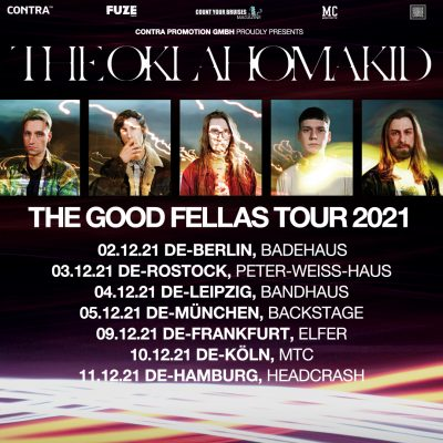 "THE OKLAHOMA KID: verschieben ""The Good Fellas Tour"""