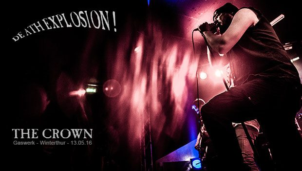 THE CROWN, 13. Mai 2016, Gaswerk Winterthur (CH)