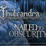 "THULCANDRA, NAILED TO OBSCURITY: ""Ascending Delusion""-Tour 2017"