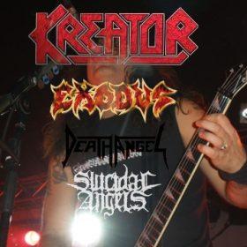 THRASHFEST 2010 mit KREATOR, EXODUS, DEATH ANGEL und SUICIDAL ANGELS am 19. Dezember 2010 in der Kölner live Music Hall