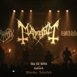 MAYHEM, MERRIMACK, UNLIGHT: Gaswerk Winterthur, 23. Mai 2014