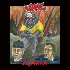 "URAL: Neues Thrash Metal / Crossover Album ""Just for Fun"" aus Turin"