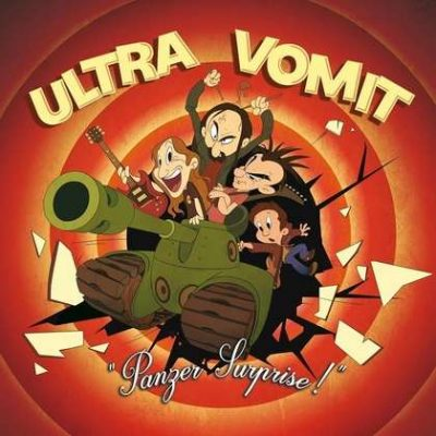 "ULTRA VOMIT: streamen ""Panzer Surprise!""-Album"