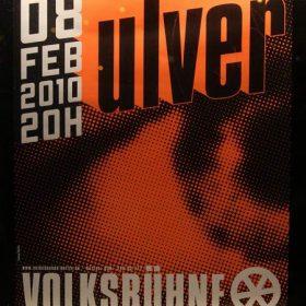ULVER am 8. Februar 2010 in der Volksbühne, Berlin