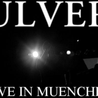 ULVER und ZWEIZZ am 1. April 2011 im Backstage, München
