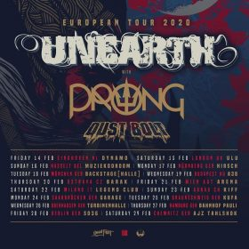 UNEARTH: Tour mit PRONG & DUST BOLT