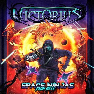 "VICTORIUS: Lyric-Video vom neuen Power Metal Album ""Space Ninjas from Hell"""