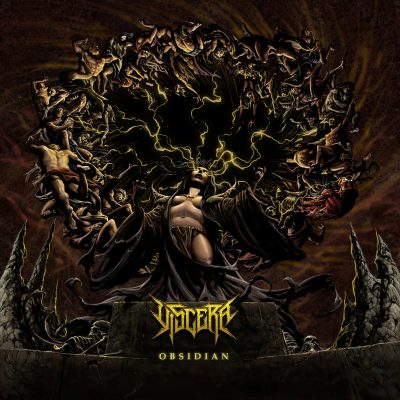 "VISCERA: neues Modern Tech Death Metal / Deathcore Album ""Obsidian"""